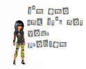 i'm emo & it's not ur problem