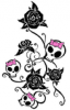 ~*SKULL AND ROSES*~