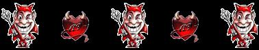 Devil and Devilish Heart Divider