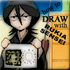 how to draw with rukia sensei..