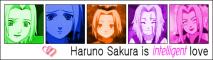 Sakura is intelligent love