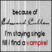 Because of Edward cullen