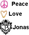 Peace Love Jonas