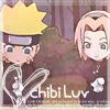 Naruto and Sakura - Chibi Love