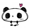 Kawaii Scribble Panda