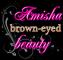 amisha. brown. eyed. eyes