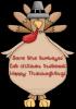 Save the Turkeys! Eat Chicken!