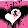 skull heart.