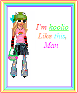 Coloured doll icon