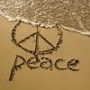 peace on the beach