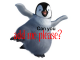 a penguin add