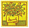 Exploding Head by Keith Haring